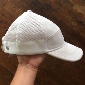 lululemon white unisex hat